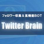 Twitterアフィリエイトで稼ぐ究極系「Twitter Brain」の7つの理由+1